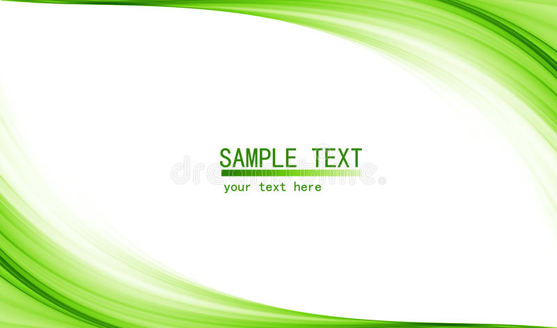 Zielony zaawansowany technicznie abstrakcjonistyczny tło royalty ilustracja