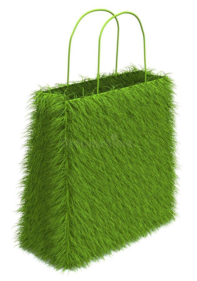 zielony zakupy ilustracja wektor