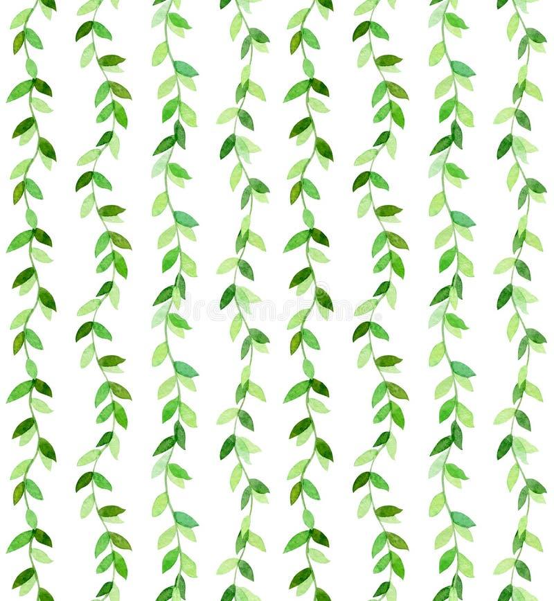 zielony zatwierdzenia falisty ilustracja wektor