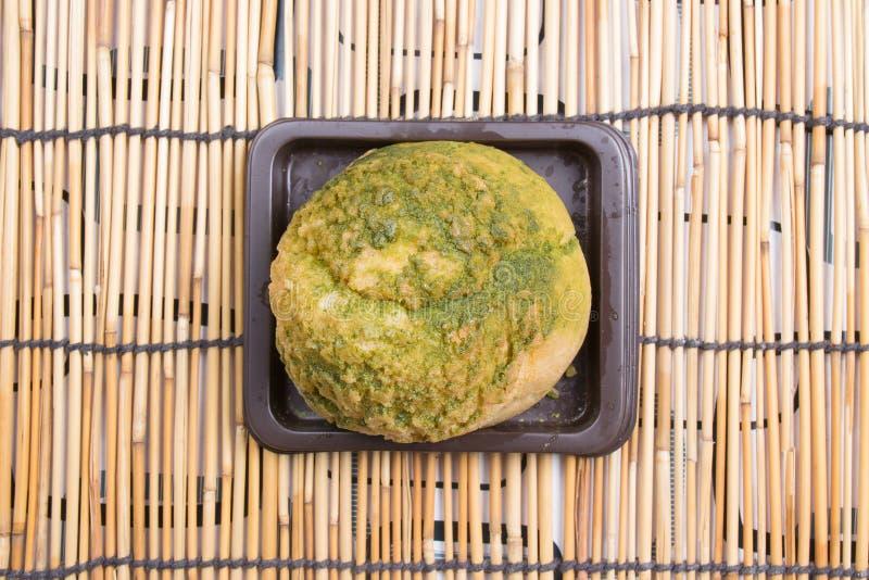 Zielonych Herbat Choux Kremowi zdjęcie stock