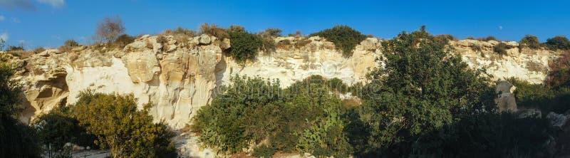 Ziemi Święta serie - Beit Guvrin park narodowy 1 zdjęcie royalty free
