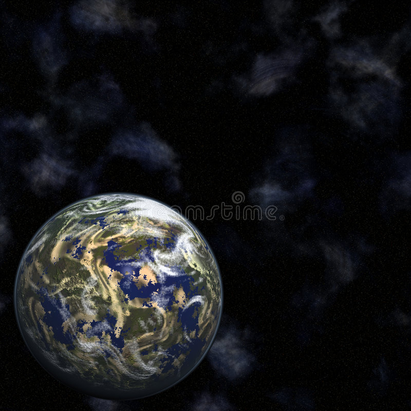 ziemi gwiazd ilustracja wektor