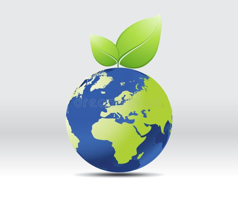 ziemi liść planeta ilustracji