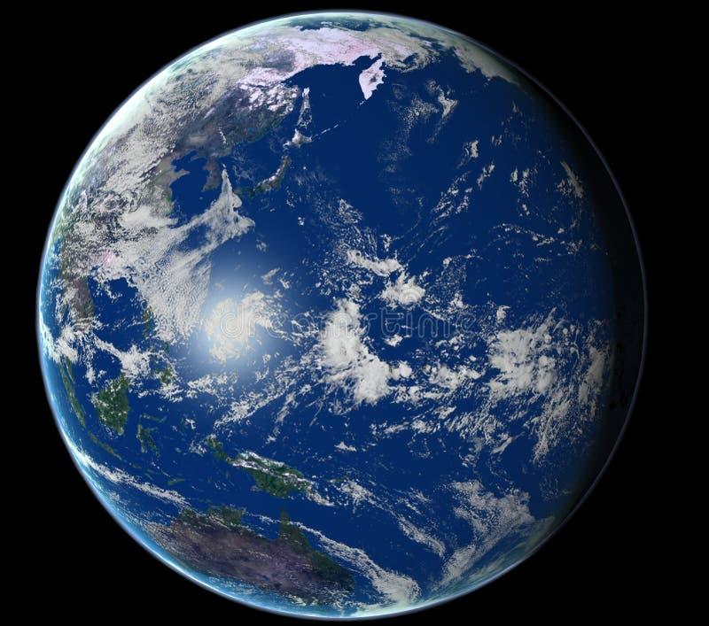 Download Ziemia ilustracji. Ilustracja złożonej z satelita, niebo - 137949