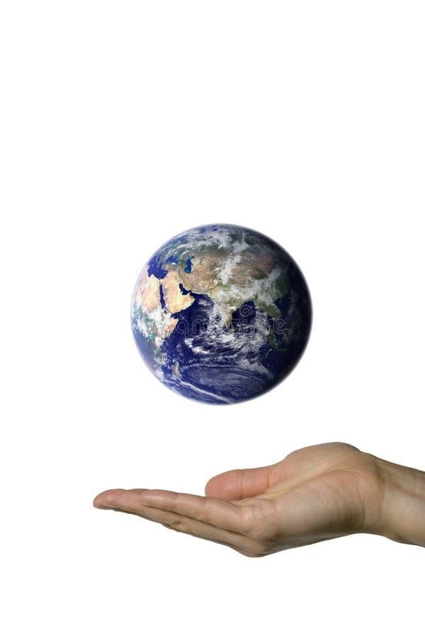 ziemia 3 wskazujący obrazy stock