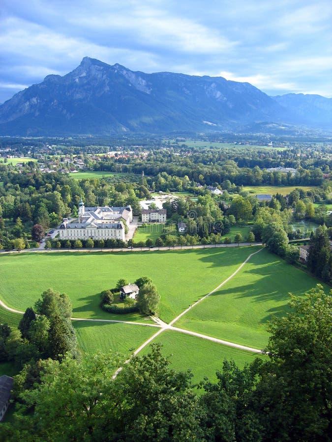 ziemia do salzburga austria obrazy royalty free