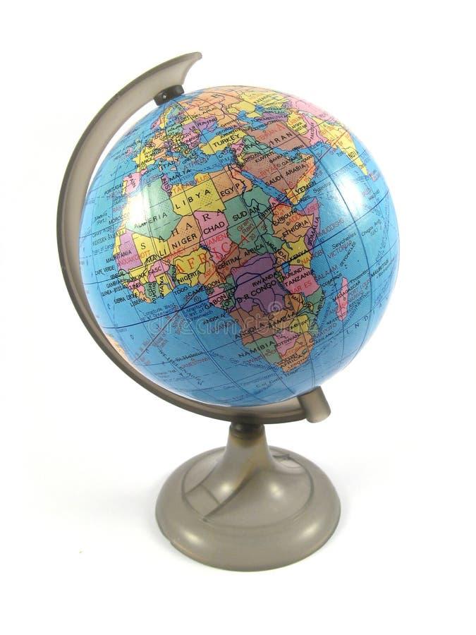 ziemia globe model zdjęcie royalty free