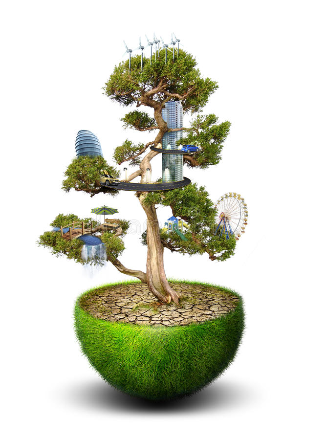 Ziemia i środowisko obraz stock