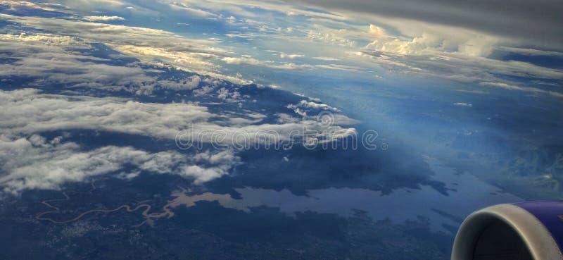 Ziemia od skyline obraz stock