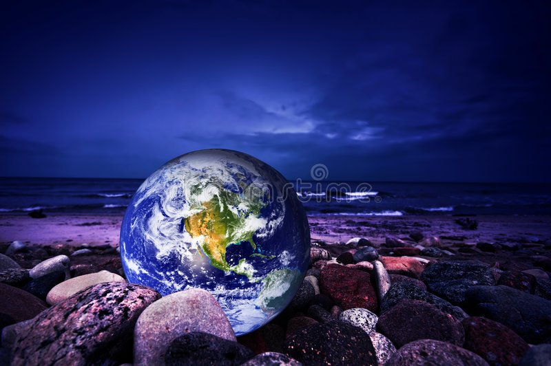 ziemia save fotografia stock