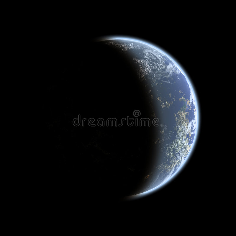 ziemia stopniowej ilustracji