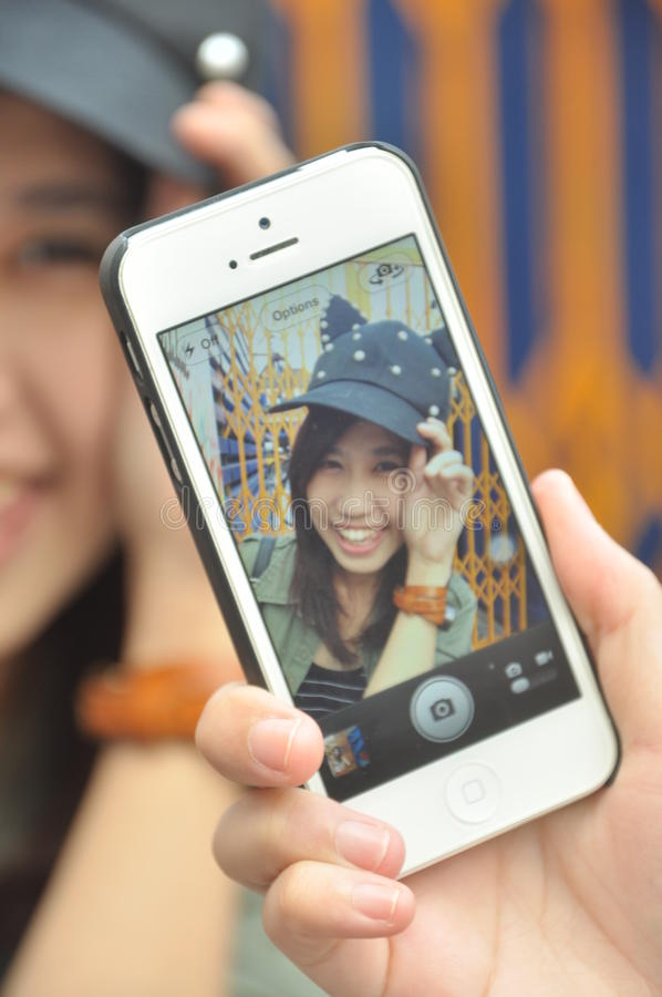Ziemia uśmiech Thailand obrazy royalty free