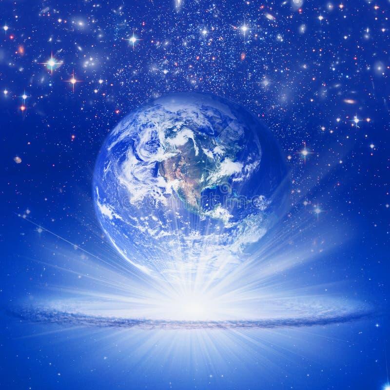 ziemska sprawy duchowe ilustracja wektor