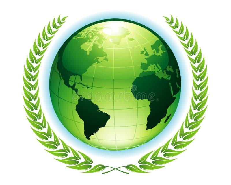 ziemska zieleń royalty ilustracja