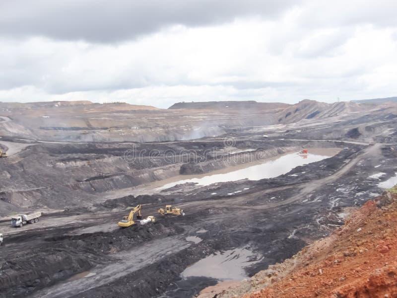 ziemski Andalusia przemysł mąci górniczego Spain zdjęcie stock