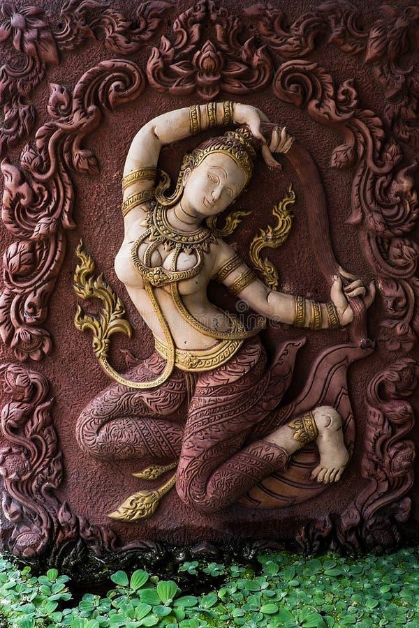 ziemskiej matki styl tajlandzki zdjęcie royalty free
