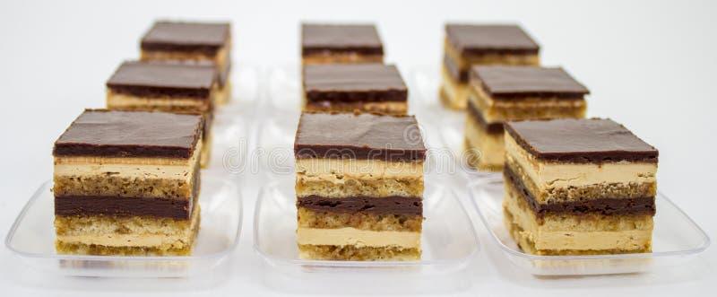 Zierlicher Opern-Kuchen stockfotos