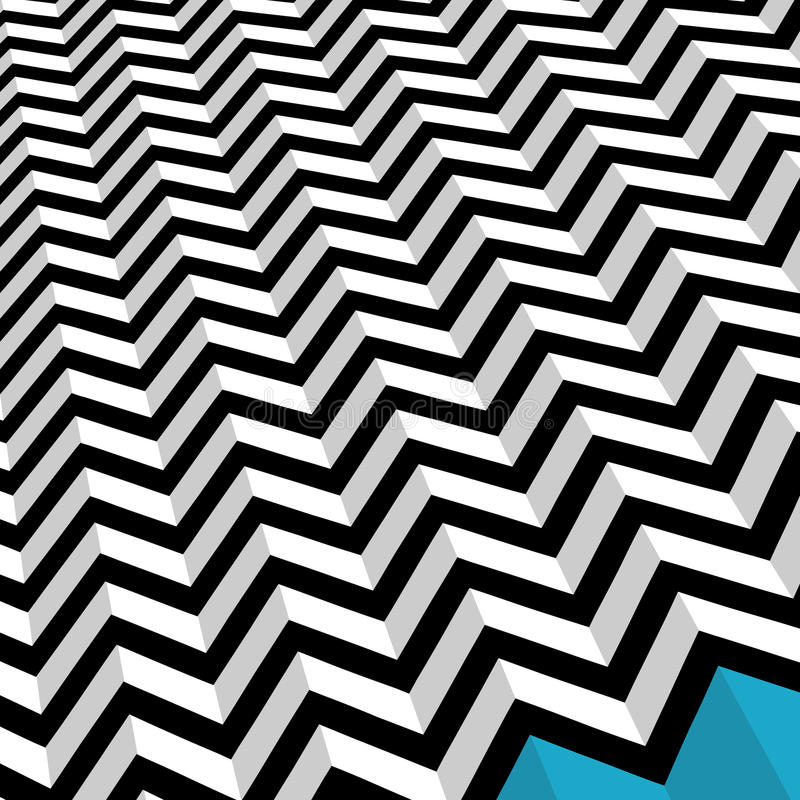 Download Zig Zag stock illustration. Image of backdrop, abstract - 28980429