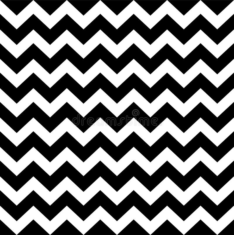 Zig zag simple pattern. Seamless pattern with fabric texture. Vector Illustration