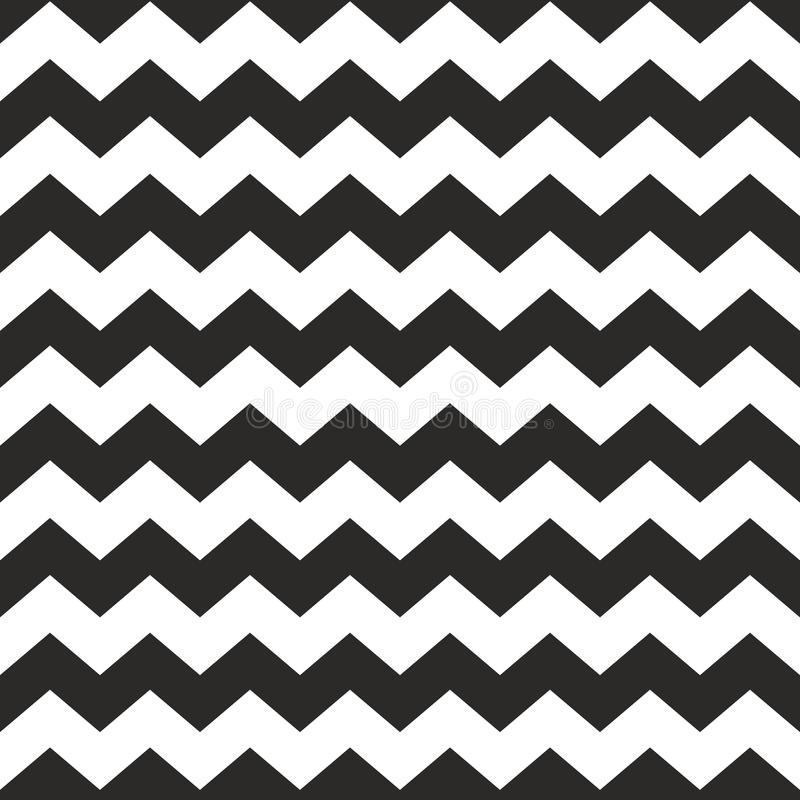 Free Zig Zag Vector Chevron Black And White Tile Pattern Stock Photo - 59042450