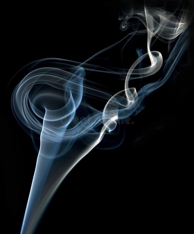 Zigarettenrauch stockfotos