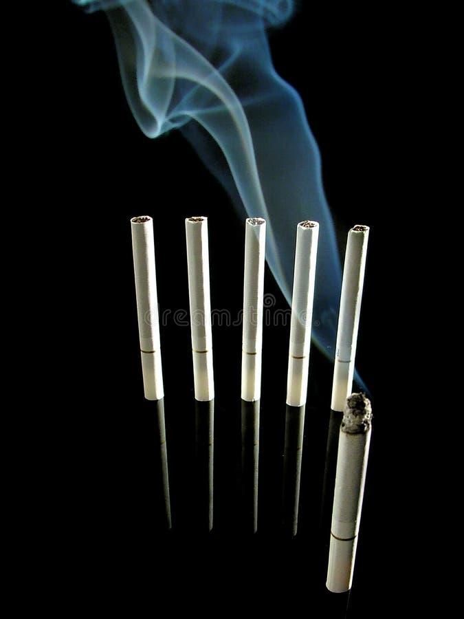 Zigarettensoldaten Lizenzfreies Stockfoto