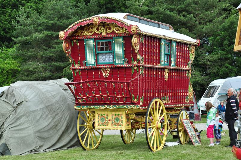 Zigeunerwohnwagen lizenzfreies stockbild