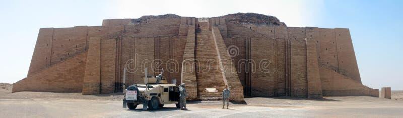 Ziggurat av Ur royaltyfri bild