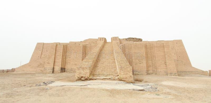 Ziggurat av Ur fotografering för bildbyråer