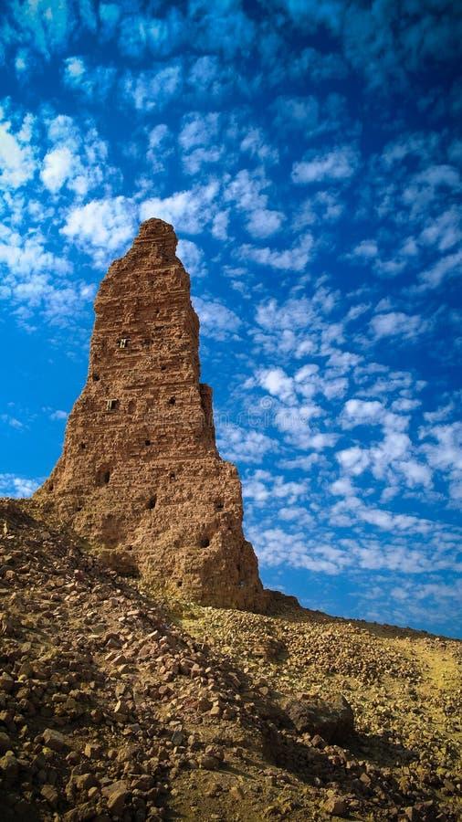 Ziggurat Birs Nimrud, der Berg von Borsippa, der Irak lizenzfreies stockbild