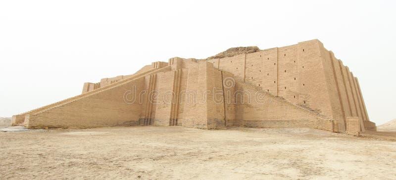 Ziggurat Ur fotografia royalty free