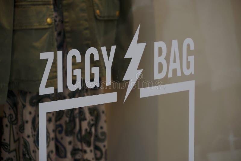 Ziggy Bag da Zadig e Voltaire fotografia stock libera da diritti