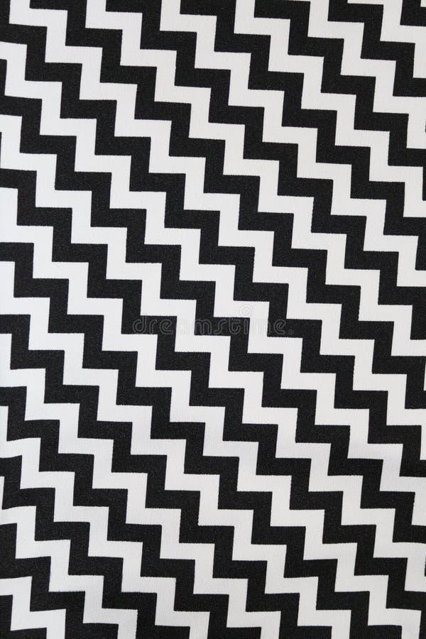Ziggy Pattern Fabric immagini stock libere da diritti