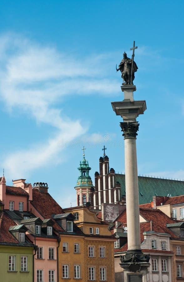 Download Zigmunt Column, Warsaw stock photo. Image of zigmunt - 20812624