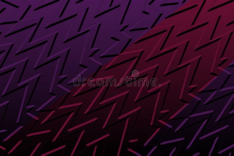 zigzag stock illustratie