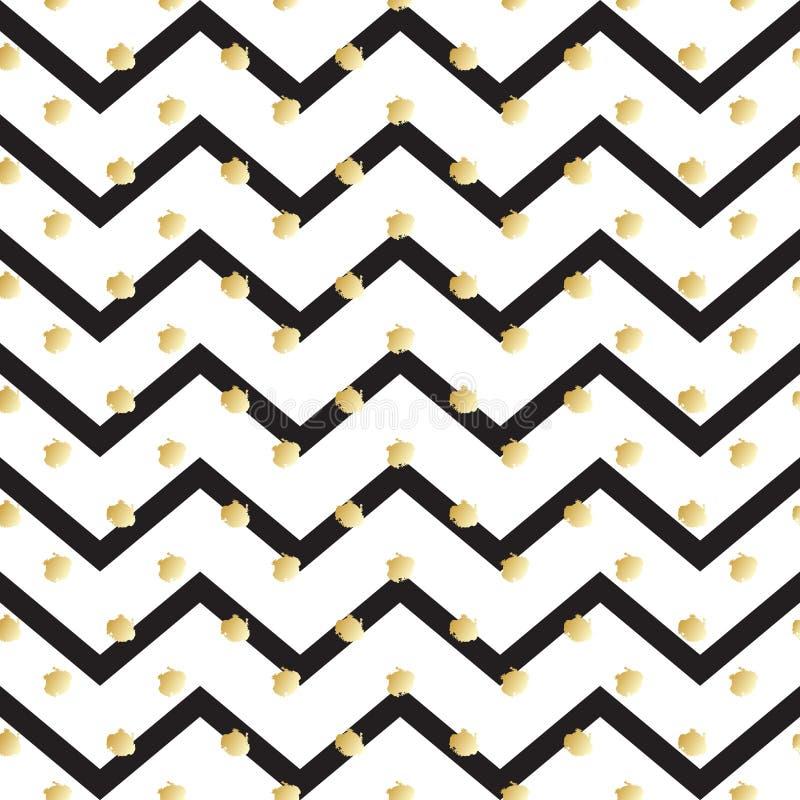 zigzag illustration de vecteur