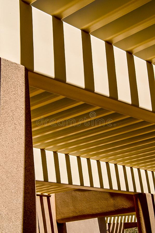 ZigZag Original. Abstract light and shadow on desert walls create zigzag patterns stock photos
