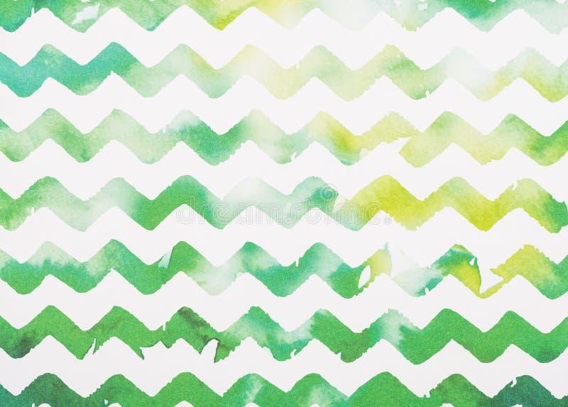 zigzag bianco e verde fotografie stock libere da diritti