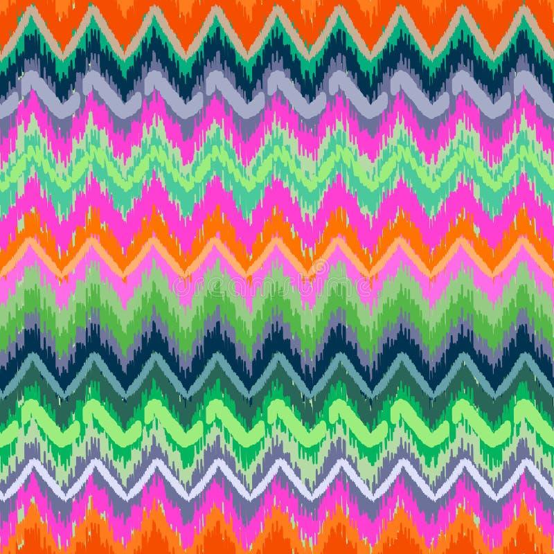 Zigzag de Skribble illustration stock