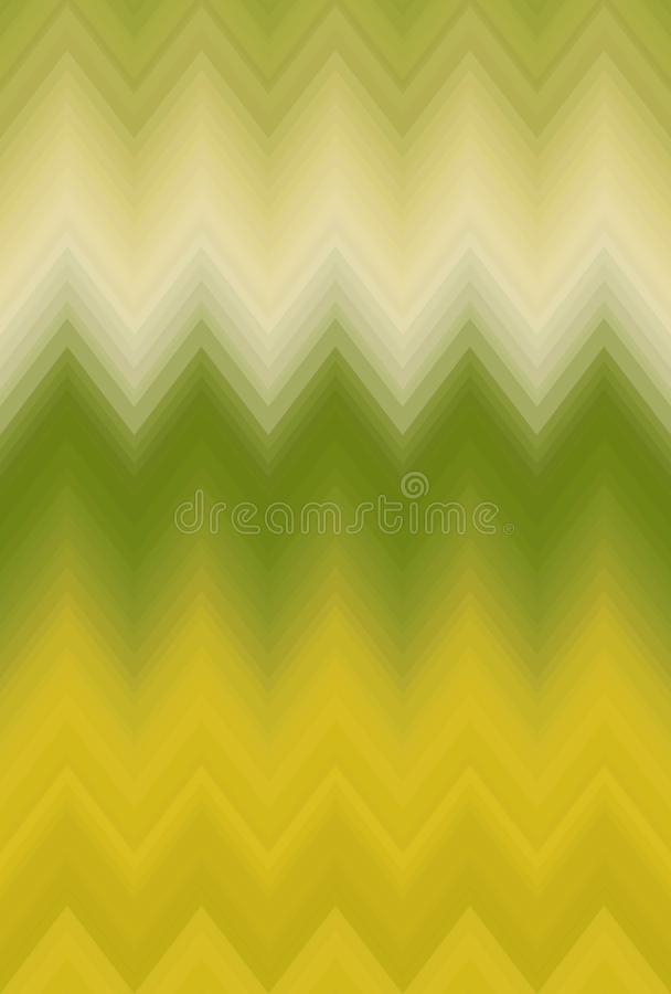 Zigzag doux de chevron de tache floue de gradient D?cor d'art illustration libre de droits