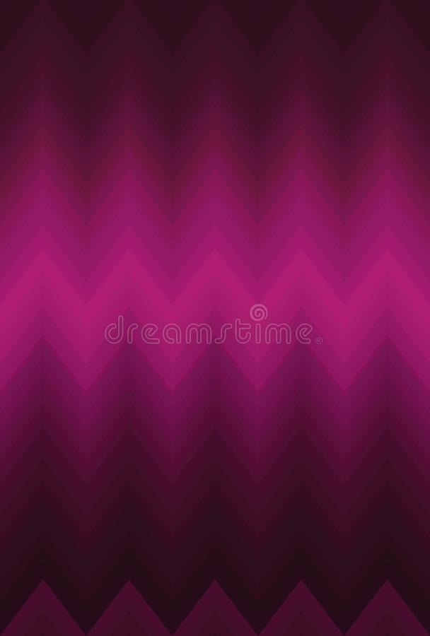 Zigzag doux de chevron de tache floue de gradient mosaïque d'illustration illustration stock