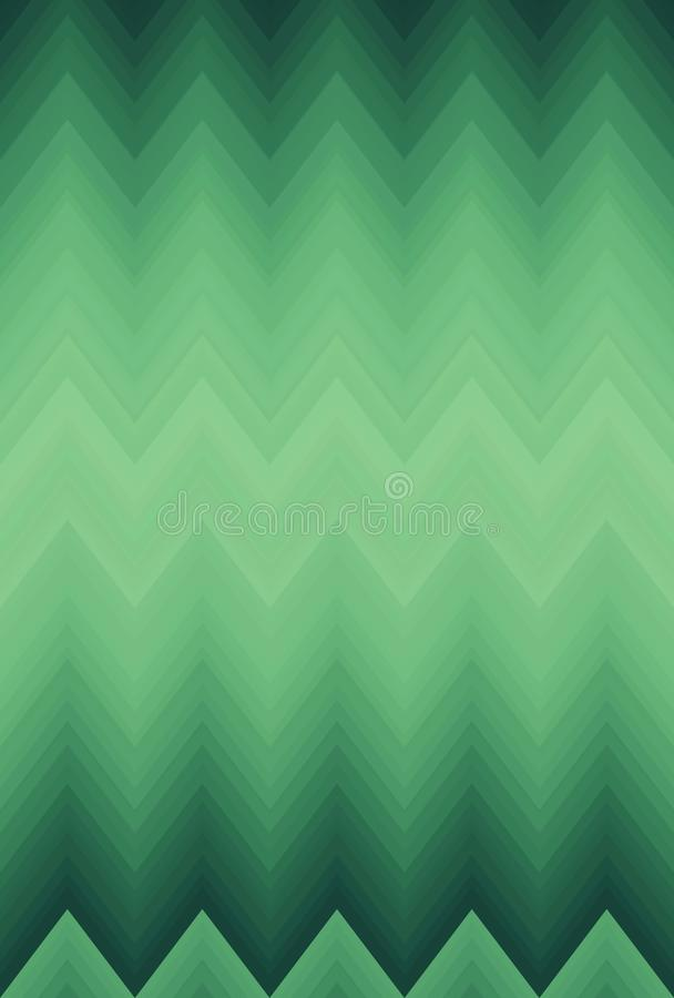 Zigzag doux de chevron de tache floue de gradient Ornement d?coratif illustration libre de droits