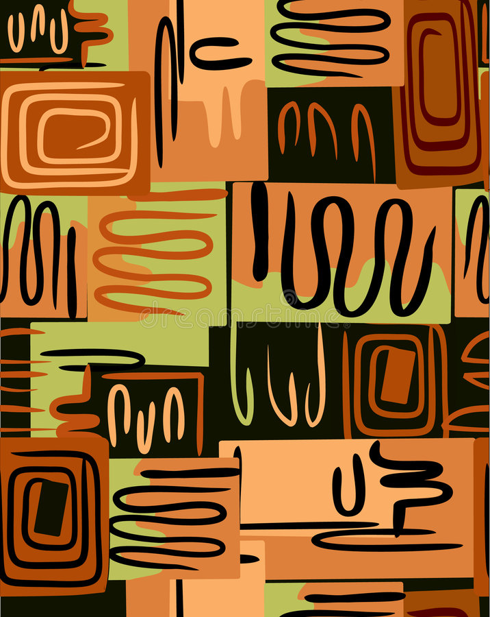 Zigzag. Illustration de vecteur illustration libre de droits