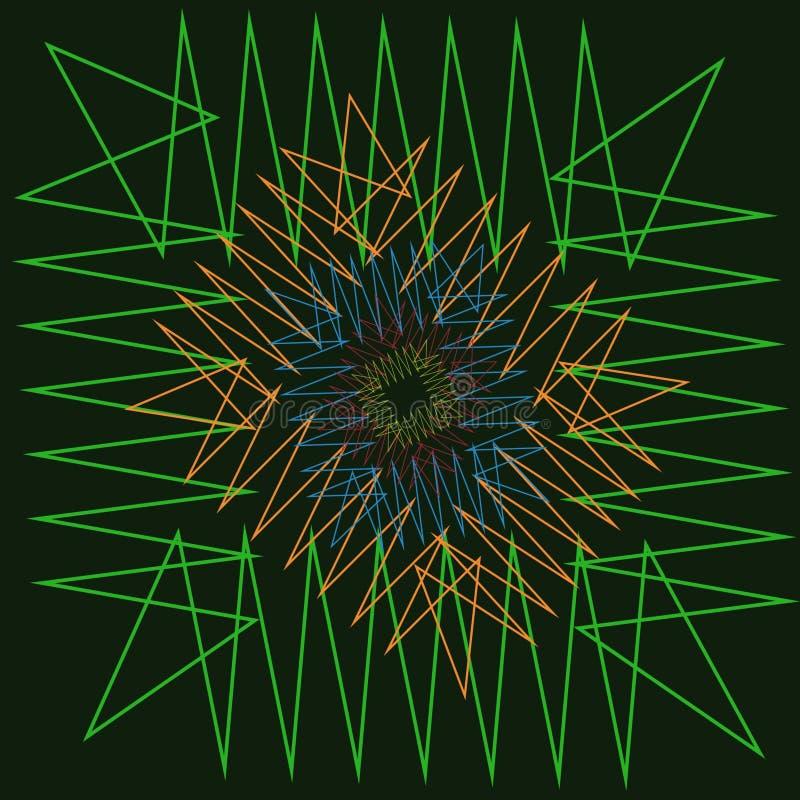 Download Zigzag. stock vector. Illustration of zigzag, manga, lines - 83716060