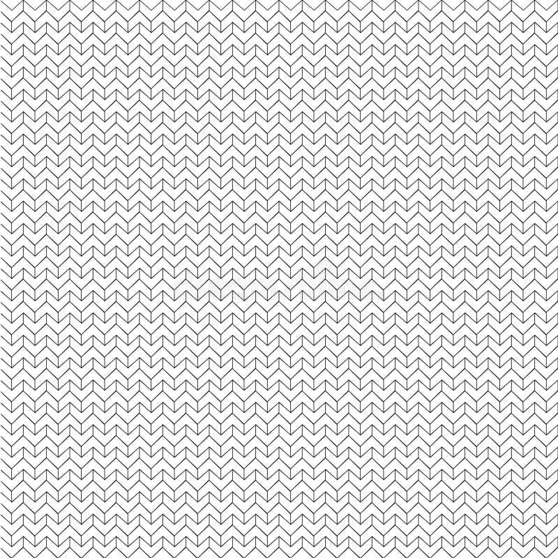 Download Zigzag Pattern Black And White Line Art Background Design Modern Fabric Texture