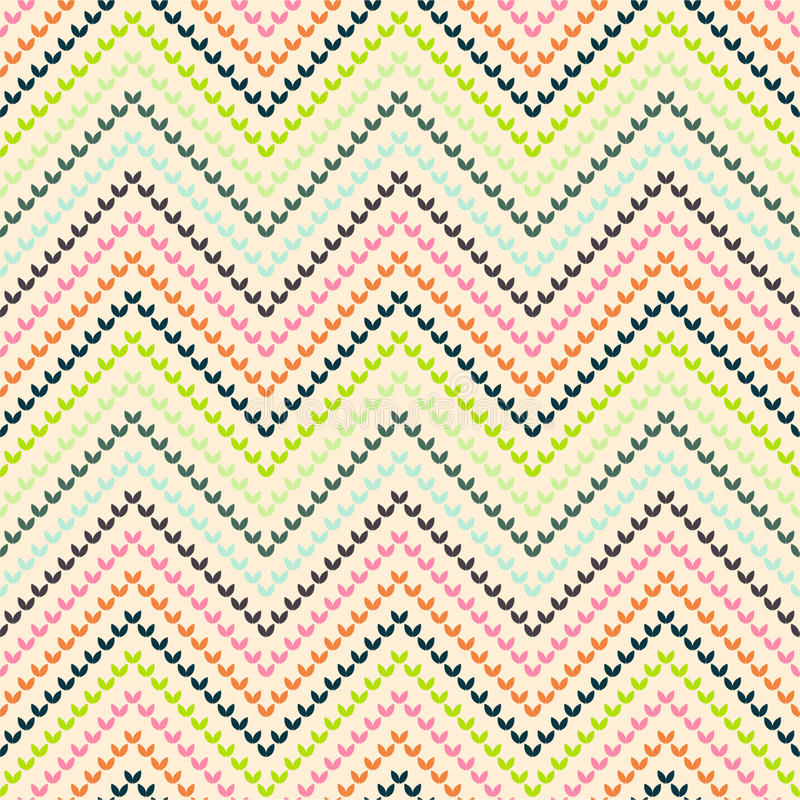 Download Zigzag Pattern In Warm Color Stock Images - Image: 25074504