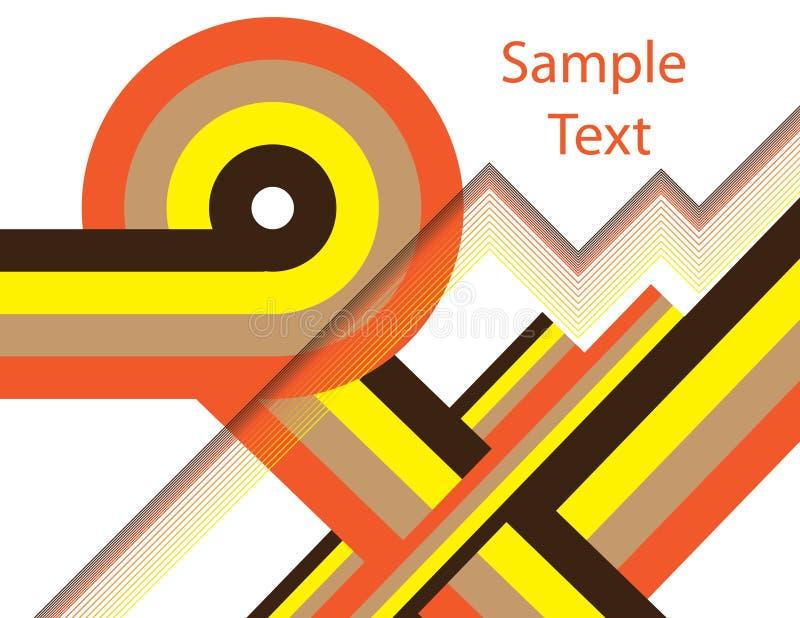 Download Zigzag Retro stock vector. Image of steps, pattern, loop - 13361688