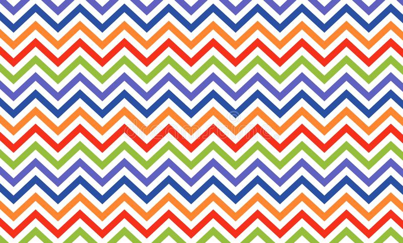 Zigzag seamless pattern background. vector illustration