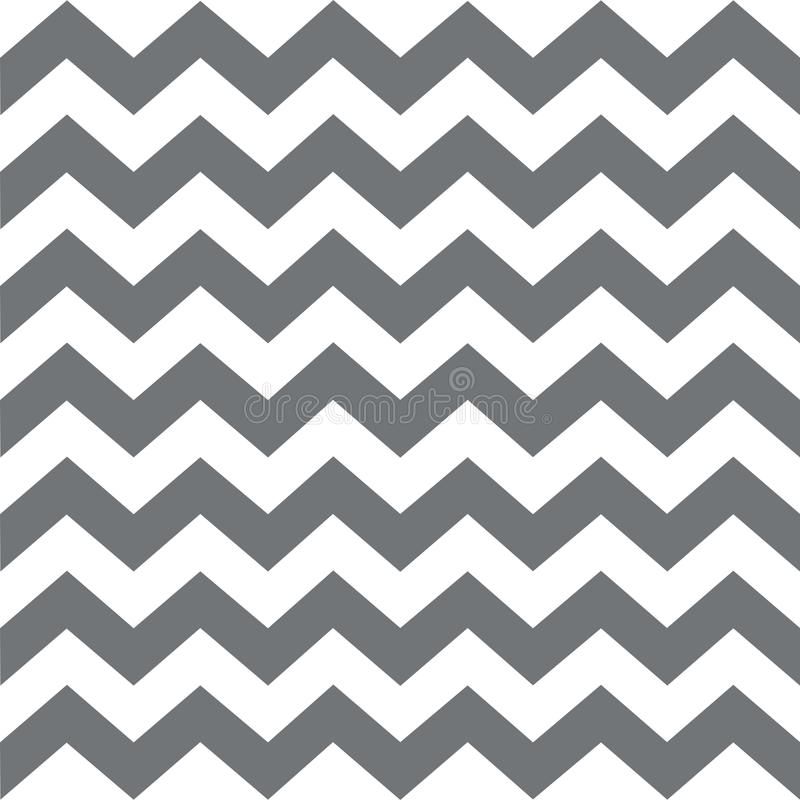 Free Zigzag Seamless Pattern. Classic Traditional Geometric Ornament.big Grey Stripes On A White Background Royalty Free Stock Photos - 103238938