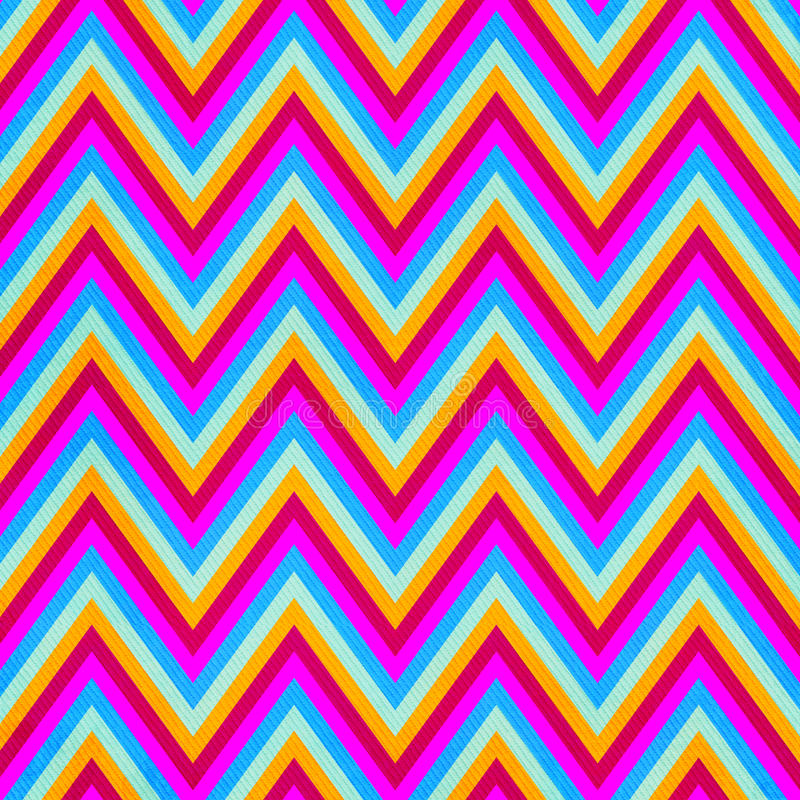 Zigzag seamless pattern royalty free illustration